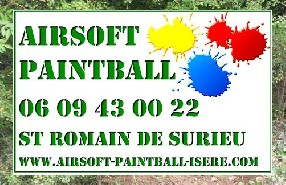 Airsoft Paintball Isère Saint Romans
